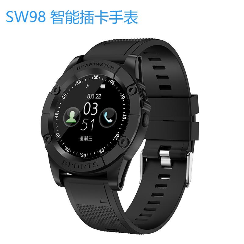 SW Đồng hồ thông minh Sản phẩm mới cửa hàng nhà máy sản xuất đồng hồ thông minh SW98 có thể gọi bước