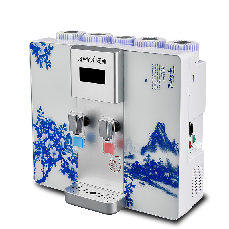 AMOI Bộ lọc nước Máy lọc nước Amoi L2 mới Máy lọc nước tích hợp nước nóng Amoi Máy lọc nước RO thẩm