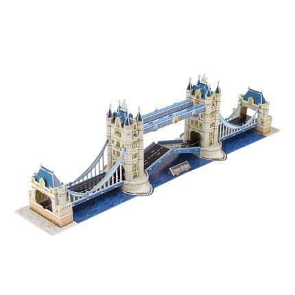 CubicFun  Tranh xếp hình 3D Le cube 3d mô hình ghép hình ba chiều của cây cầu đôi ở london