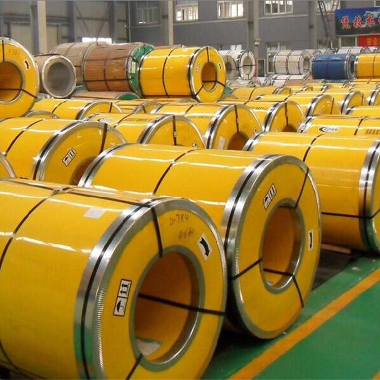 Cán nóng Nhà máy trực tiếp cán nóng cán nguội 201 304 316L chải thép không gỉ cuộn
