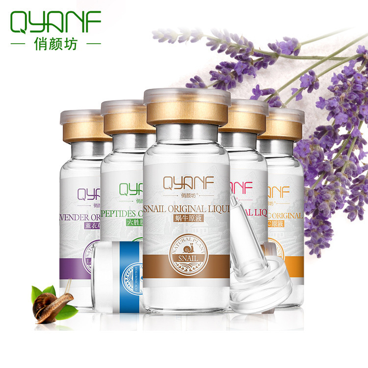 QYF Essence Qiaoyan Phường chính hãng bán buôn chất lỏng đa dạng tùy chọn ốc hexapeptide vc tinh chấ