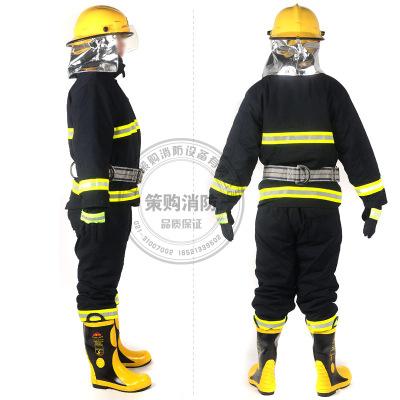 Trang phục chống cháy 02 Bộ quần áo chữa cháy 14 Bộ đồ bảo vệ chữa cháy