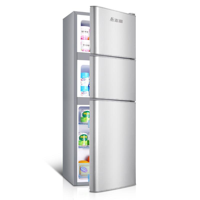 Zhigao - tủ lạnh ba cửa nhỏ cho hộ gia đình tiết kiệm năng lượng