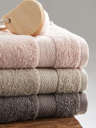 grace  Khăn lông  Jie Liya khăn bông giặt mặt nam hộ gia đình bông trắng đôi không thể thấm nước tắm