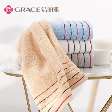 grace  Khăn lông  Khăn Jie Liya cotton dày mặt thấm nước thấm bông hộ gia đình người lớn không xơ vả