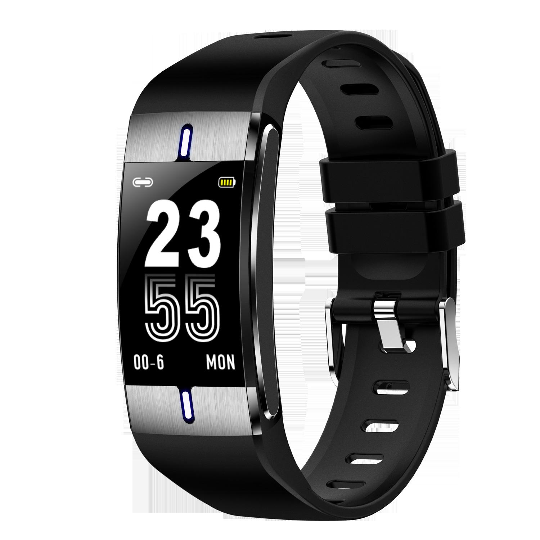 SEZC Vòng đeo tay thông minh BM08 Tập thể dục thông minh Cơ thể Vòng tay béo Nhịp tim Huyết áp Theo