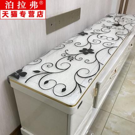 yimu Bàn trà  Khăn trải bàn PVC trong suốt bàn mat không thấm nước mềm TV tủ cà phê bàn trong suốt n