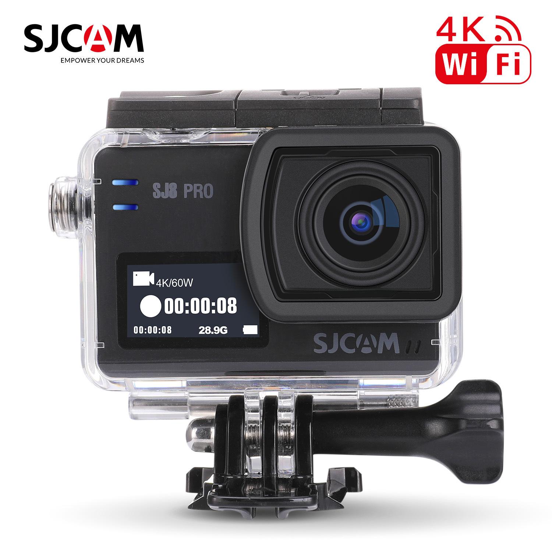 SJCAM Máy ảnh kỹ thuật số Máy ảnh hành động SJCAM SJ8 PRO HD 4K Lặn chụp ảnh trên không Cưỡi máy ảnh