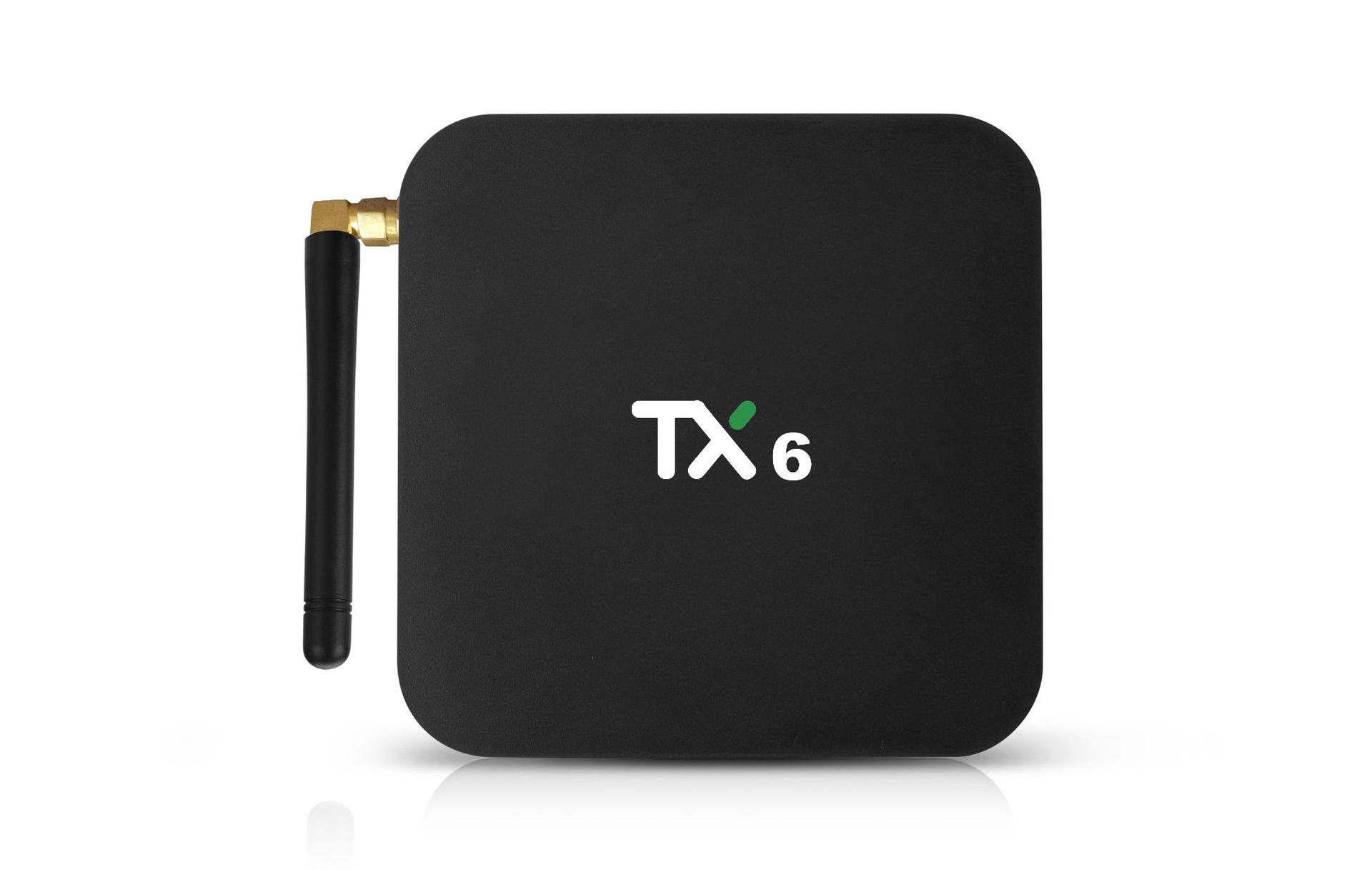 OEM Thiết bị kết nối Internet cho TV TX6 STB Quanshi H6 Trình phát mạng Bluetooth HD Trình phát mạng