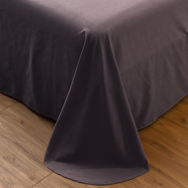 Bộ drap giường Bộ chăn ga gối cotton cotton mùa thu và mùa đông dày tấm ga trải giường đơn giản bốn