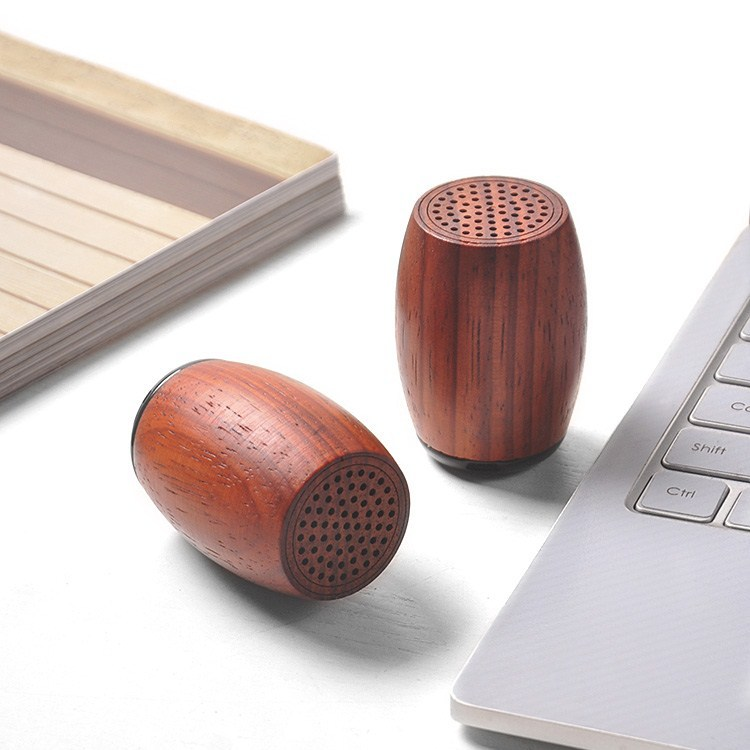 IKGE Loa Bluetooth Loa gỗ gụ ASUS YAMEISHI Loa gỗ gụ Ames sạc loa Bluetooth 1 cặp