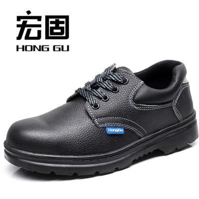 HONGGU Giày bảo hộ Bán buôn tại chỗ bảo hiểm lao động giày an toàn giày bảo hộ chống va đập chống đâ