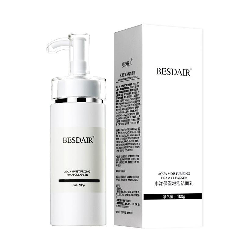 BSDE Sữa rửa mặt Bessida Aqua dưỡng ẩm