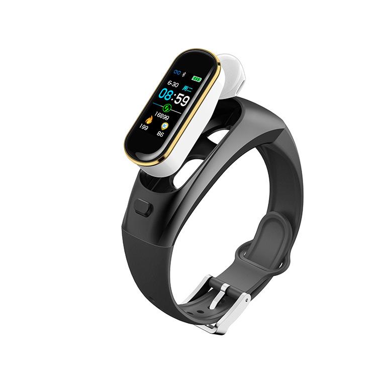 BEITEJAI H109 cuộc gọi màu mới màn hình vòng đeo tay thông minh chia đôi nhịp tim 2 trong 1