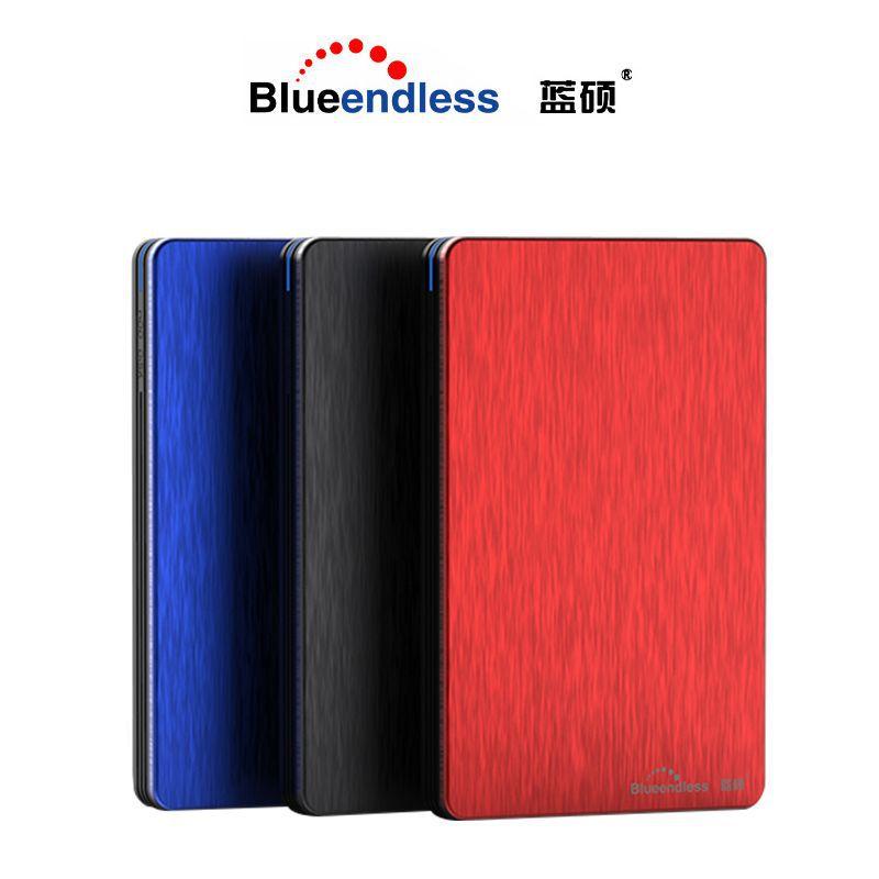 Lan Shuo ổ cứng di động 2t 1t 500g ổ cứng 2,5 inch siêu mỏng USB3.0 máy tính xách tay ngoài