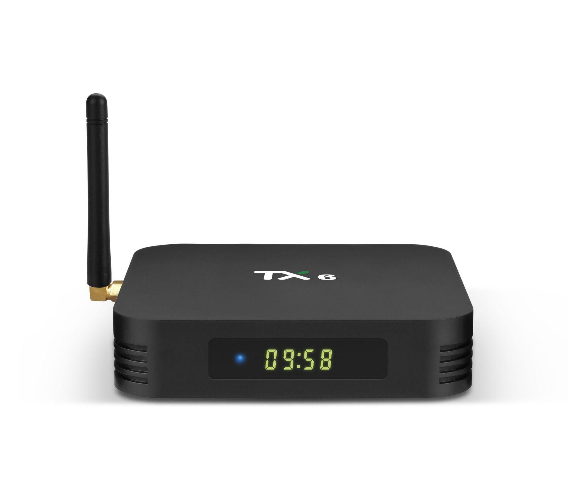 Thiết bị kết nối Internet cho TV Q BOX Trình phát mạng Android TV Box TV BOX Quanshi H6 4G / 64/32 W