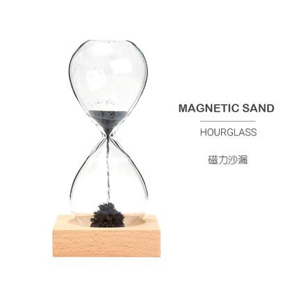 Ruyuan - đồng hồ cát trang trí bàn nam châm từ tính đồ chơi sáng tạo trẻ em