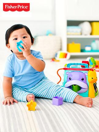 FISHER-PRICE  Bộ đồ chơi giáo dục nhận thức sớm sáu mặt cho bé CMY28