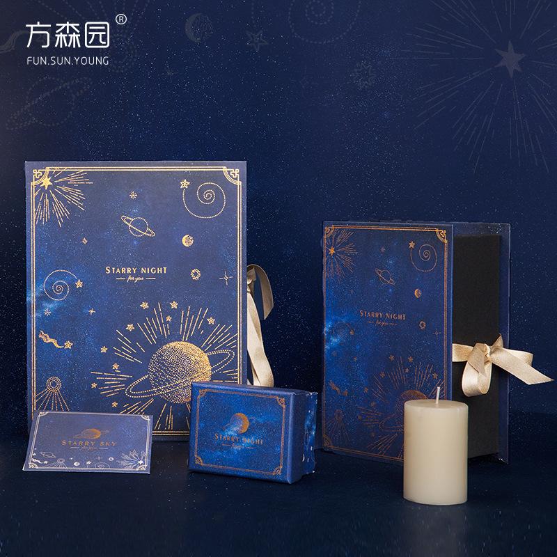 FUN.SUN.YOUNG Hộp giấy Fang Senyuan Fan Xing Xing hộp quà tặng sáng tạo với bao bì quà tặng thủ công