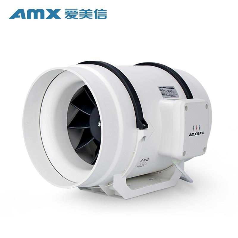 AMX Quạt thông gió Emerson D250 xiên dòng tăng cường quạt nhà bếp fume quạt hút trong nhà cung cấp n