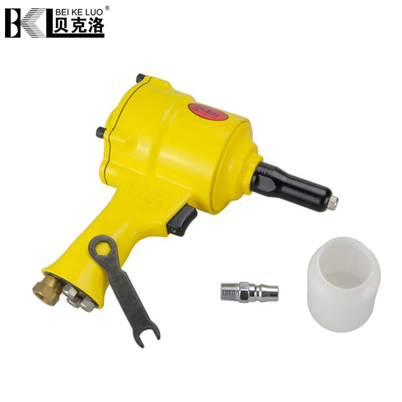 BEIKELUO Dụng cụ bằng hơi Kéo súng bắn đinh Nhà máy sản xuất súng đinh tán Beclow bán buôn dụng cụ k