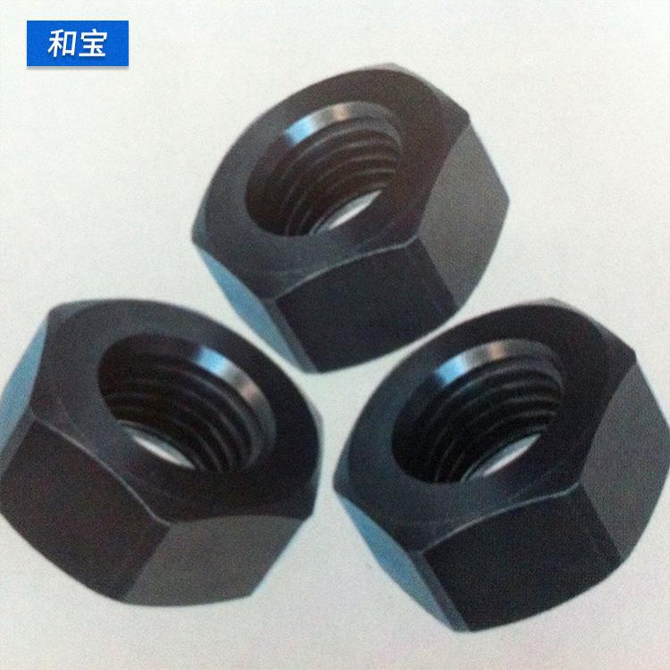 HEBAO Tán Đai ốc lục giác cho trục ép Hardened 8.8 đai ốc lục giác Cứng và đai ốc kéo dài