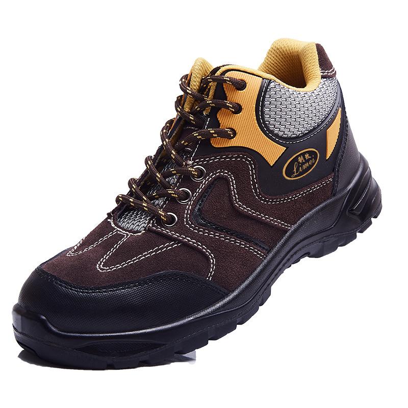 DADUN Giày bảo hộ Khiên bảo vệ lao động giày nam chống va đập chống xuyên giúp trợ giúp khử mùi thoá