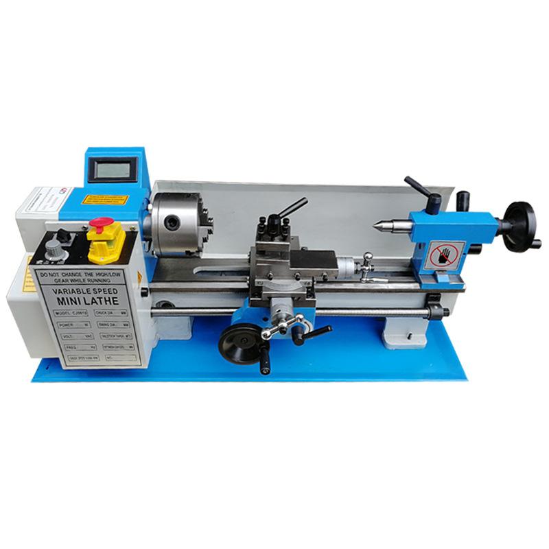 JINDIAO Máy công cụ Cơ khí Máy tiện nhỏ Độ chính xác cao Công suất cao Máy tiện DIY Thu nhỏ Máy gia