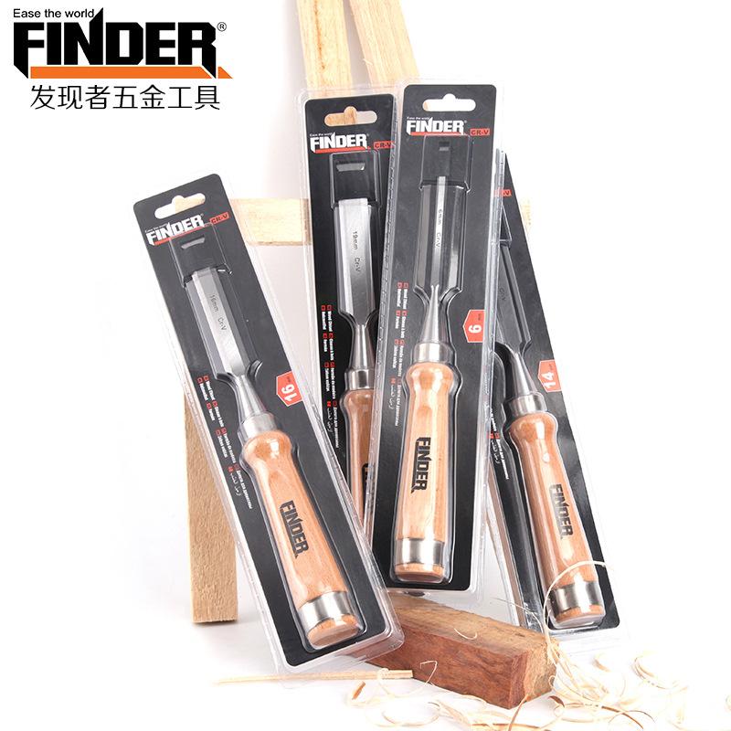 FINDER Công cụ nghề mộc Thợ thủ công xuyên biên giới công cụ tìm gỗ mới đục gỗ sồi 6160 chrome vanad