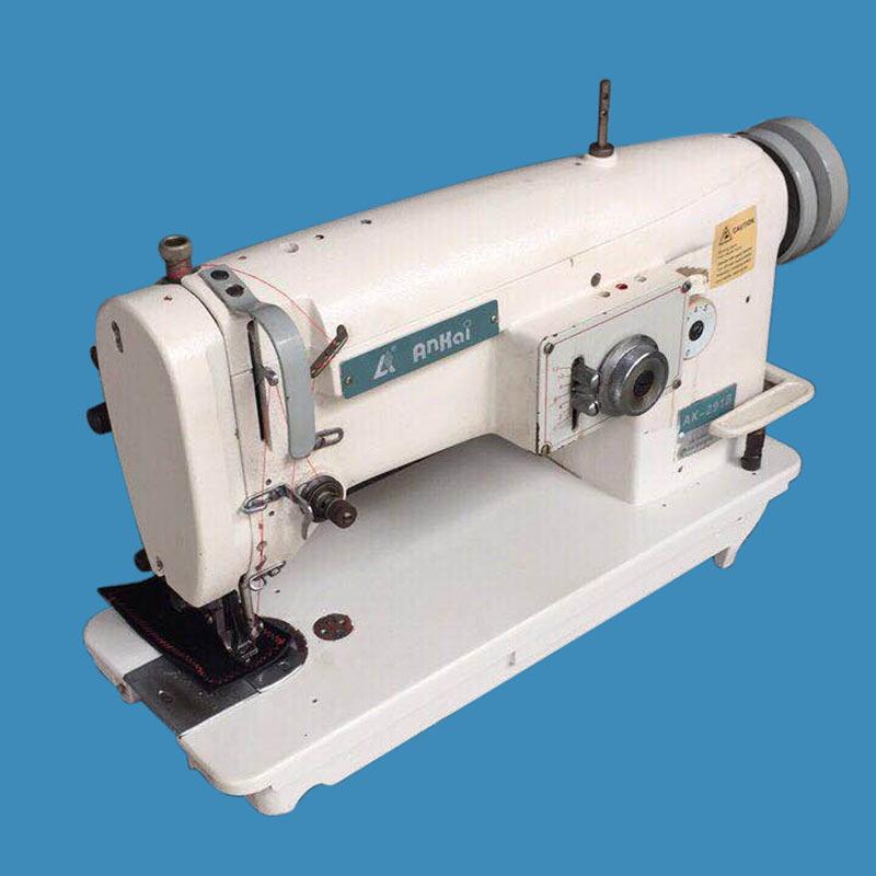 Máy may công nghiệp đã qua sử dụng Đồng bộ DY Herringbone Hai điểm xương cá