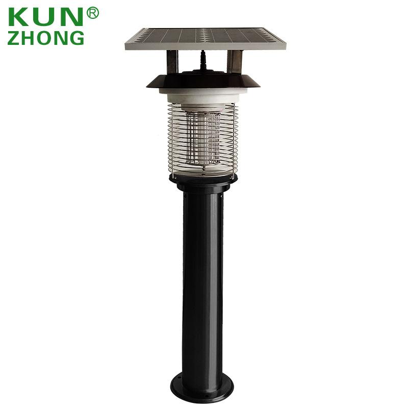 Kunzhong Đèn diệt muỗi Đèn LED diệt muỗi ngoài trời Vườn sốc điện năng lượng mặt trời