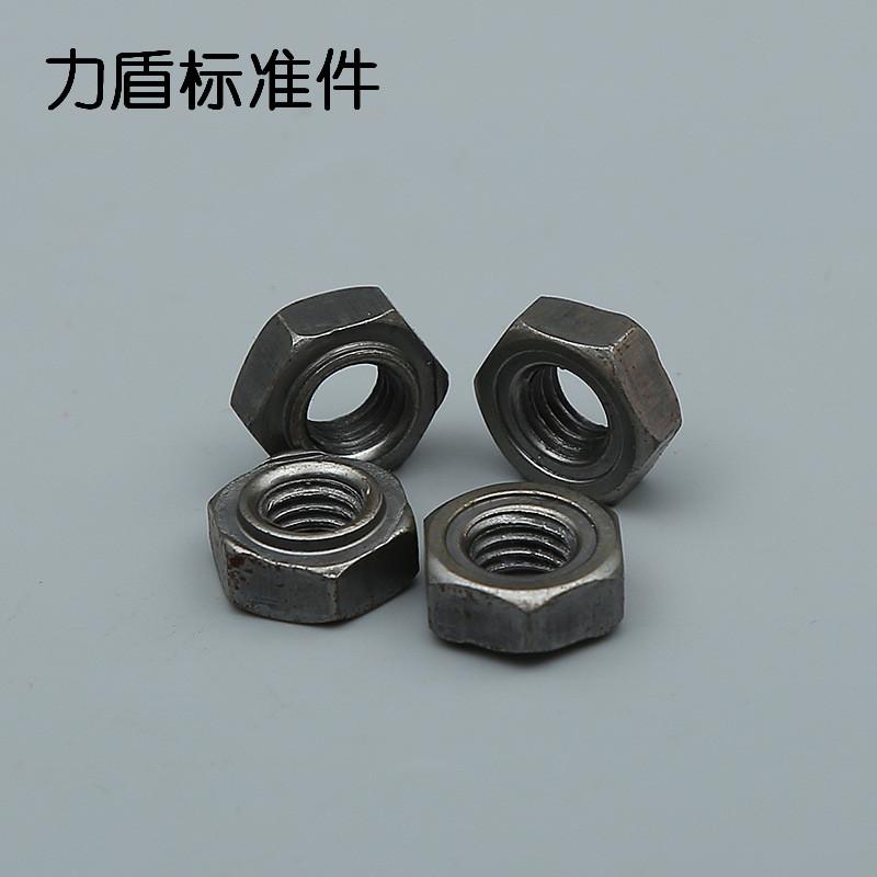 MINJING Tán Đai ốc hàn lục giác GB13681 Đai ốc hàn DIN 929 Hạt hàn Anh và Mỹ Đai ốc hàn carbon trung