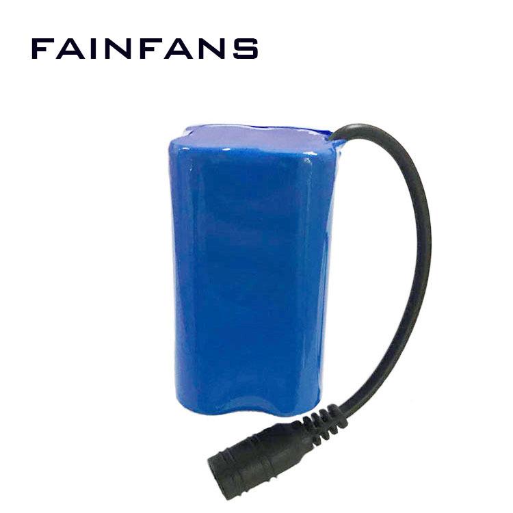 Fainfans Pin Lithium-ion 7.4V hai và 18650 điều khiển từ xa pin thuyền pin 5200mah pin thanh pin bản