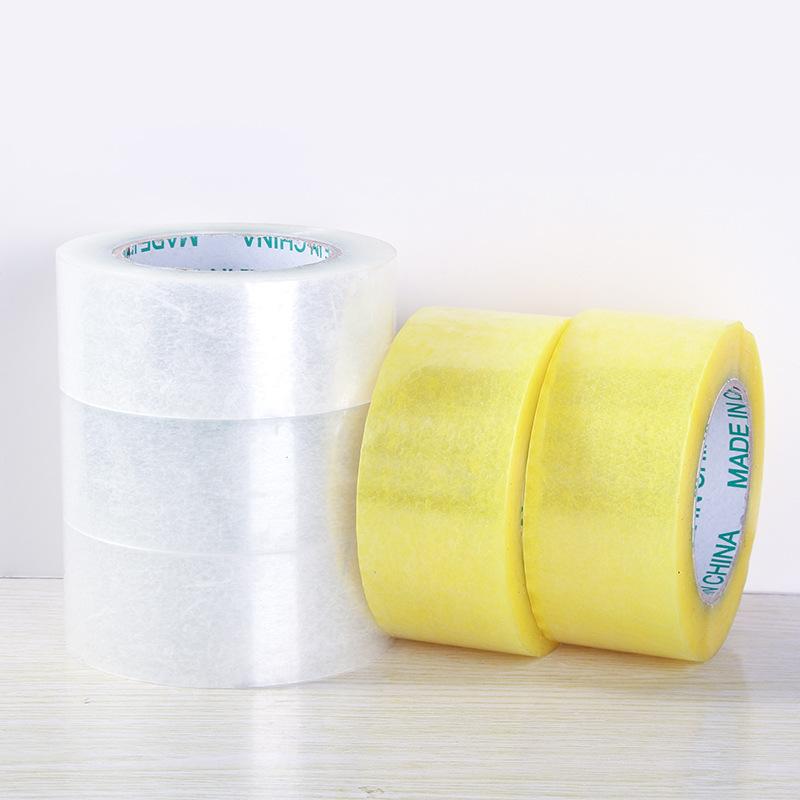 Băng keo đóng thùng Nhà sản xuất bán buôn băng dính rộng 5 cm dài 130 m dài đóng gói băng đóng gói đ