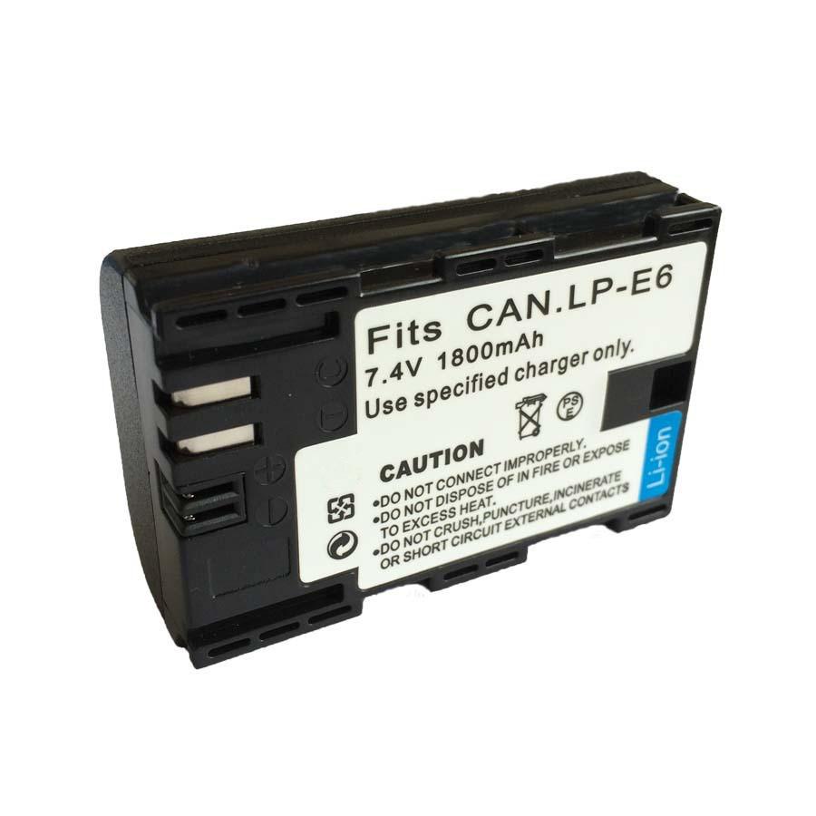 OEM Pin Lithium-ion Pin máy ảnh kỹ thuật số TOPSA LP-E6 pin pin 60d7D pin lpe6 pin máy ảnh DSLR