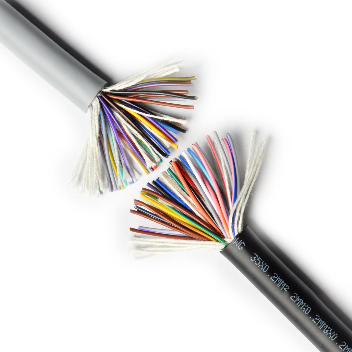 SHENGPAI Dây nguồn Sheng thương hiệu PVC dây điện bảo vệ môi trường UL2464-28AWG trên dây có vỏ bọc