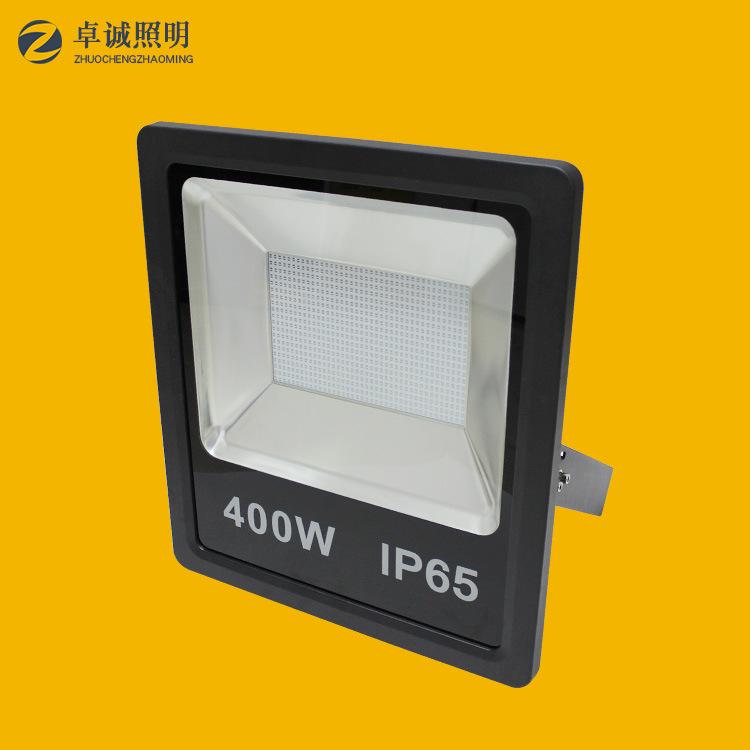 ZHUOCHENG Vỏ chụp đèn chiếu điểm 400Wled Đường hầm Shell Shell Spotlight Shell Kit