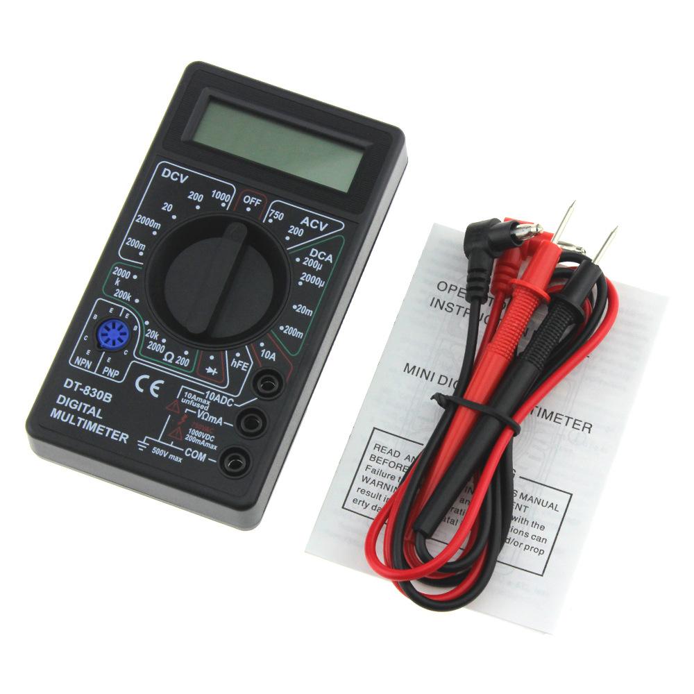 Đồng hồ đo điện Đa biên giới dành riêng cho thiết bị điện vạn năng vạn năng mini vạn năng DT830B