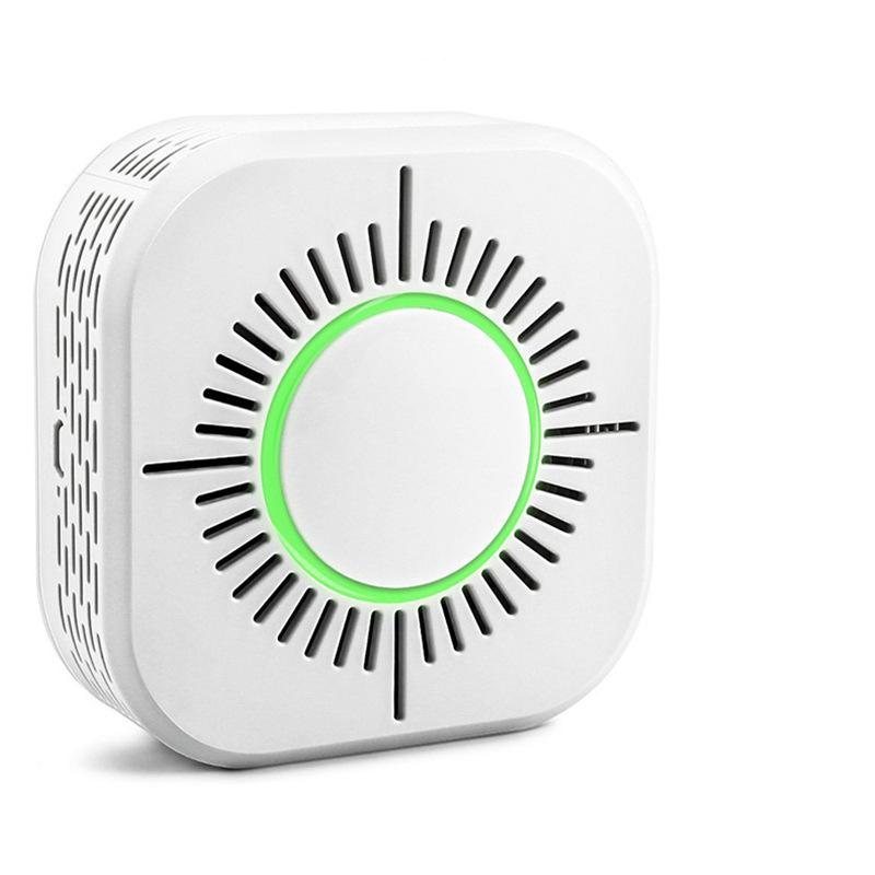 OEM Thiết bị báo khói 433 Báo động khói Báo động từ xa Điều khiển từ xa thông minh Bảo mật nhà thông