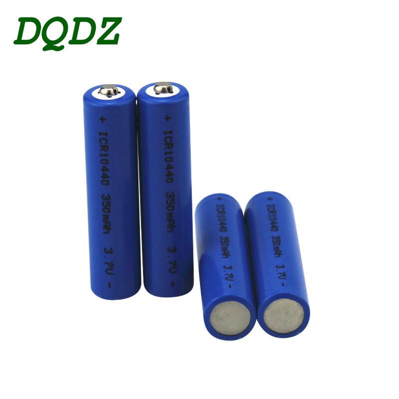 DQDZ Pin Lithium-ion Pin 10440 nhọn pin 350mAh mAh có thể sạc lại pin thứ 7 3.7v pin lithium ion thứ