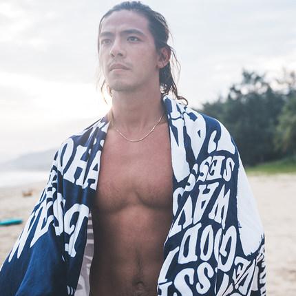 Decathlon Khăn bãi cát  Khăn tắm biển Decathlon khăn tắm biển tắm khăn tắm biển cung cấp thiết yếu p