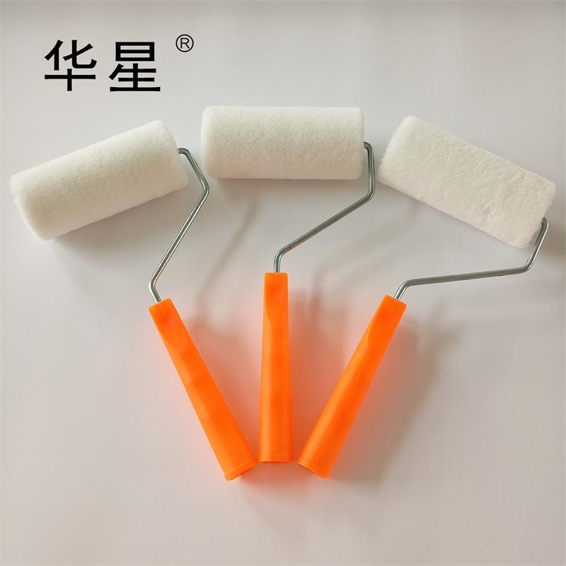 HUAXING Con lăn Nhà máy bán hàng trực tiếp Huaxing 6 inch len lăn cọ sơn sơn lông ngắn con lăn epoxy
