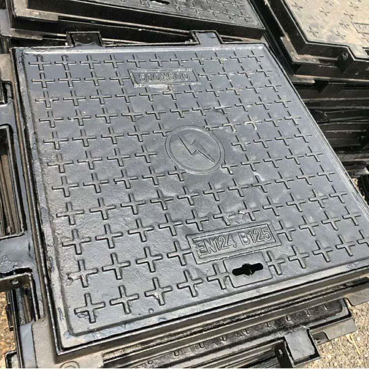 SHANYE Nắp cống Rainwater Manhole Cover Square Yếu Thông tin liên lạc hiện tại Dễ uốn sắt Manhole Co