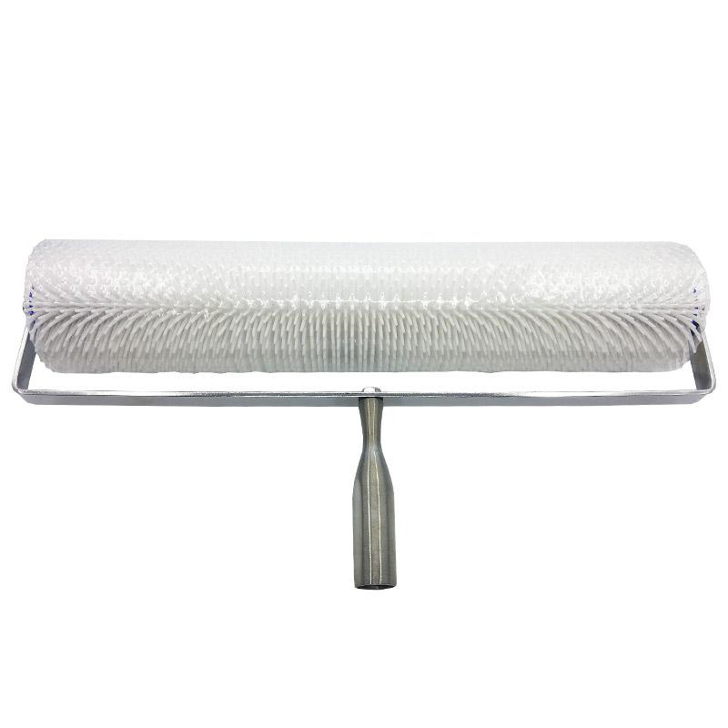 Con lăn Tự san phẳng con lăn khử bọt Công cụ xây dựng xi măng nhựa PVC sàn nhựa tròn kim lăn dày