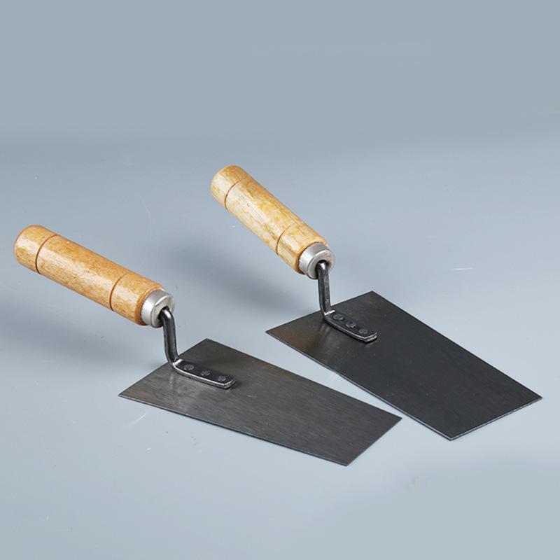 QUANXI Công cụ nghề mộcNhà máy trực tiếp lớn nhỏ màu xám muỗng trowel tường dày trowel dao dao gạch
