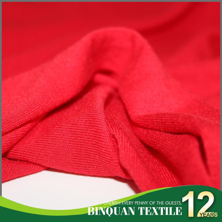 BINQUAN Vải Visco (Rayon) Cotton Nhật Bản 32s cotton spandex dệt kim áo nhà Áo thun yoga váy mềm mại