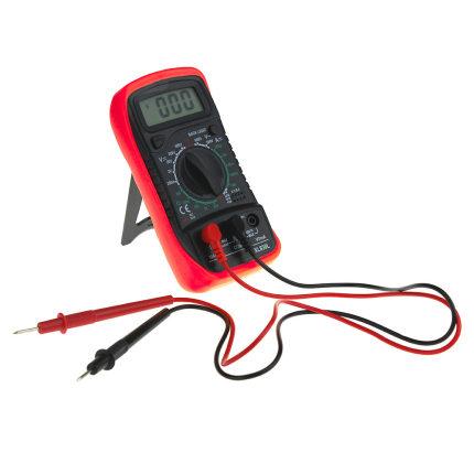 BONDHUS Đồng hồ đo điện Bookhan Viêng Chăn Electrician 830L Vỏ silicon đỏ Máy đo kỹ thuật số Bảng cầ
