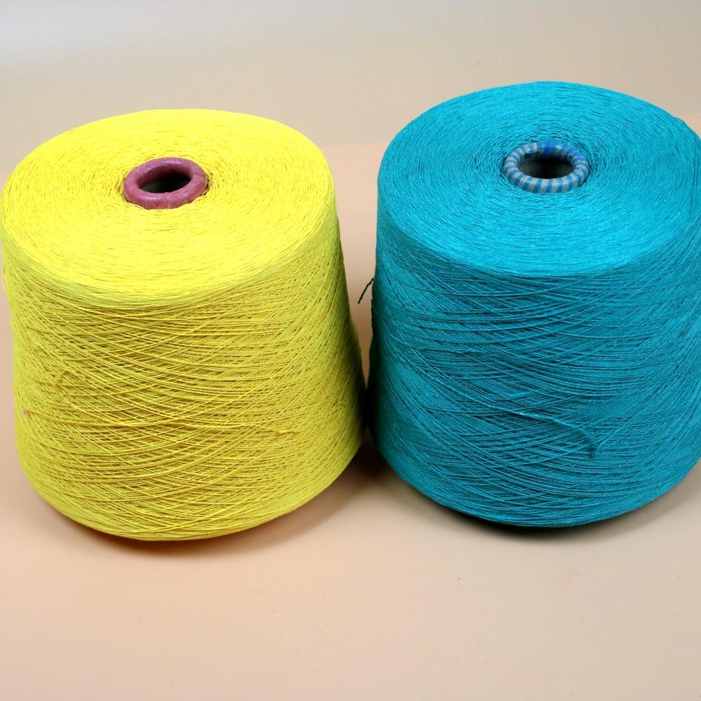 JINCHAN Sợi bông tẩy trắng 8-21 sợi bông tái sinh sợi dệt kim sợi khăn bông kéo sợi không khí