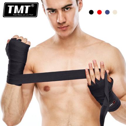 TMT thắt dây TMT đấm bốc băng bó tay bảo vệ Sanda tay quấn túi cát bảo vệ tay huấn luyện Muay Thái b