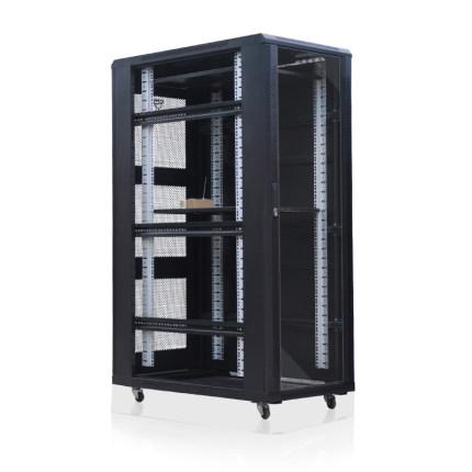 LAIE   Cán nguội Tấm cán nguội chất lượng cao 1.6 mét tủ máy chủ 1600 * 600 * 1000 tủ máy chủ 32u tủ